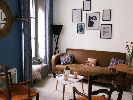 Location Appartement rénové 2 pièces Bayeux (14400) - Rue Larcher